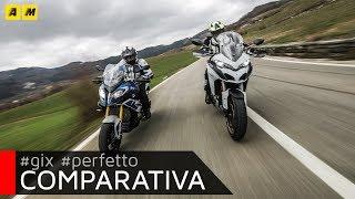10. Ducati Multistrada 1260S VS BMW S1000XR 2018: sfida al top! [ENGLISH SUB]