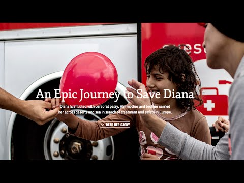 Saving Diana: A Syrian Refugee With Special Needs