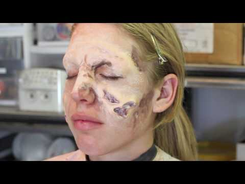 Zombie Makeup Fx With Sloughing Skin Tutorial