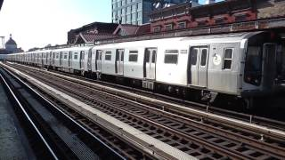 Due to long term construction until April 2018, there will be no M trains runnin' between Myrtle Avenue-Broadway and Middle Village-Metropolitan AvenueM trains will operate between Forest Hills-71 and Myrtle Avenue-Broadway, then rerouted via the J line to Broadway Junction. M train service will now run all day from 5AM until 11PM with no late night service. This is Phase I of the Myrtle Avenue Line reconstruction project which will last until September 1Here's the R160A M trains on action at Marcy Avenue durin' the weekday rush hour service!Shuttle buses will be provided to replace the loss of M train service at the followin' stations:-Flushing Av J/M/Z Station-Myrtle Av/Broadway J/M/Z Station-Myrtle/Wyckoff Avs L StationFOLLOW ME: Google: http://plus.google.com/+BwayLineEntTwitter: http://twitter.com/BwayLine7795Facebook: http://FB.me/BLETransitInstagram: http://Instagram.com/reggakabwaylineThankx for watchin' and stay tuned for the latest uploads