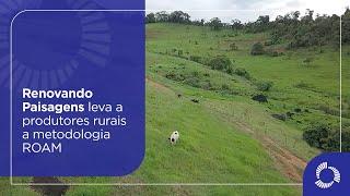 Renovando Paisagens leva a produtores rurais a metodologia ROAM