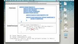 OO Programming In Java - Lecture 3 (1/19/13)