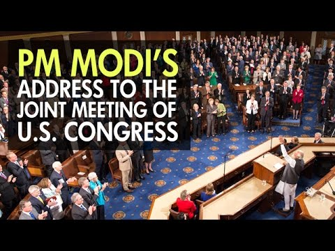 Prime Minister Narendra Modi Addresses Joint Meeting of U.S Congress in Washington DC