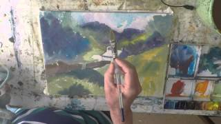 Watercolour Tutorial Blea Tarn Cottage Lake District