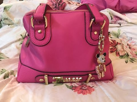 Happy Mother's Day 2018 What's in my Juicy Couture Pink Flamingo Bag