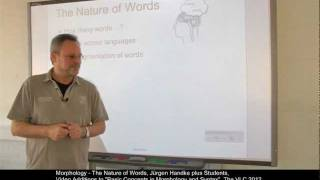 Morphology - The Nature of Words