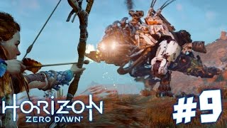 ROBOT T.REX!!! - Horizon Zero Dawn Walkthrough | Part 9 (PS4) HD