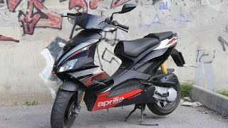3. Обзор на Aprilia sr 50 factory/Review Aprilia sr 50 factory