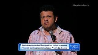 Paul Rodríguez Recordó Su Paso Por Premio Lo Nuestro