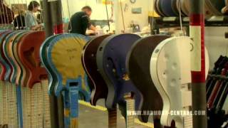 PRS Factory Tour Part 3 of 4 - Finishing and Assembly