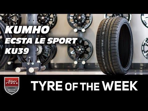 Tyre of the Week: KUMHO Ecsta Le Sport KU39