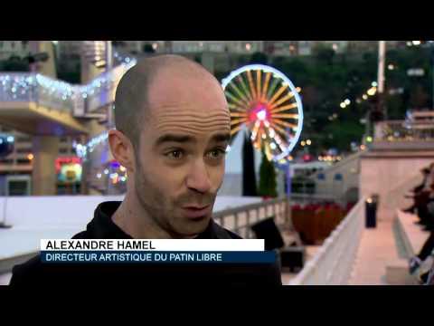 Monaco Dance Forum : Le Patin Libre , reportage Monaco Info