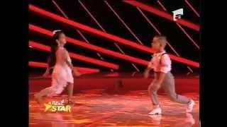 Alesia şi Cassius, dansatori profesioniști la șase ani!
