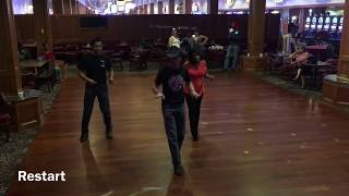 Girl I Love To Look At You - Line dance demo