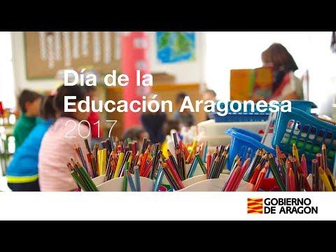 Día de la educación aragonesa - 2017