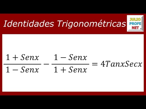 Comprobación de una Identidad Trigonométrica