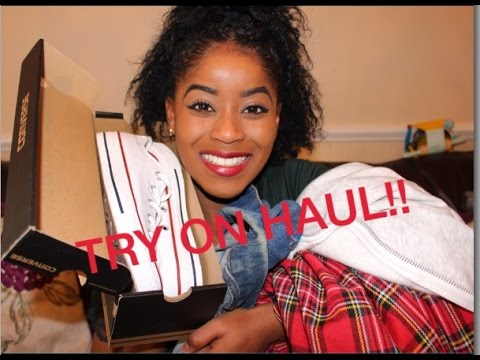 TRY ON HAUL!|| Smashbox primer, Clothing, Bucket hats and more!