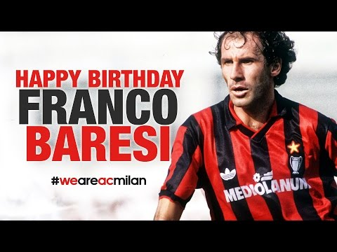 يوم ميلاد سعيد للاسطورة فرانكو باريزي