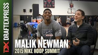 Malik Newman - 2015 Nike Hoop Summit - DraftExpress Interview
