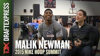 Malik Newman - 2015 Nike Hoop Summit - DraftExpress Interview