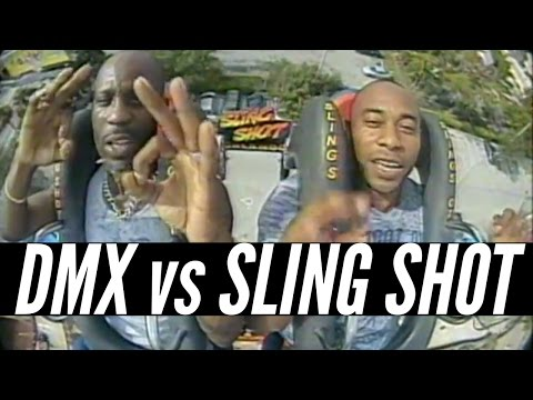 Shot - DMX rode the infamous Sling Shot in Orlando, Florida. Enough said. Watch the original footage here: http://youtu.be/-tZ3-a7lCAU Music: http://youtu.be/4FFK5Oh10os More Mike Relm: http://youtube...