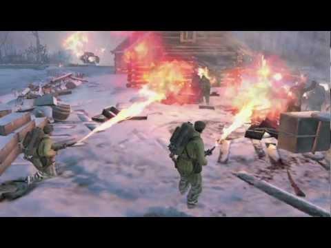 Company of Heroes 2: rilasciato ufficialmente il primo trailer che mostra il gameplay