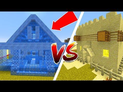 Thử Thách Làm Nhà Băng Và Cát Trong Minecraft - Thời lượng: 20:04.