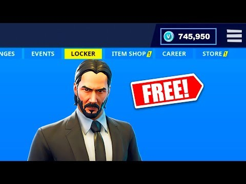 HOW TO GET *NEW* JOHN WICK SKIN FREE IN FORTNITE!