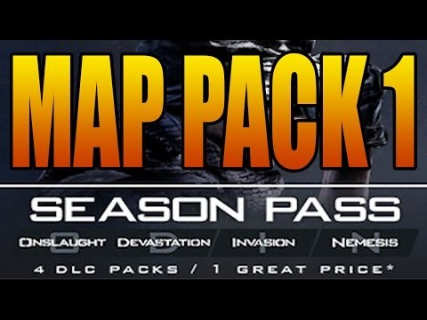 COD Ghosts – MAP PACK 1 Release Date and Maps Names (Call of Duty Ghost DLC Invasion January 28)