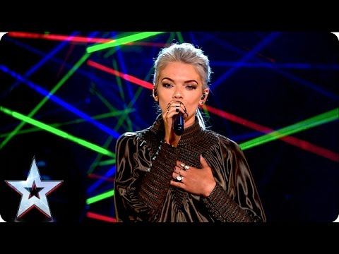 Clean Bandit and Louisa perform new single Tears | Grand Final Results | Britain�s Got Talent 2016