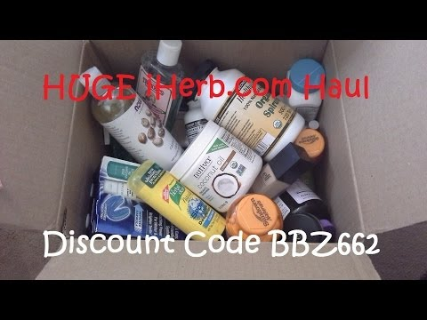 HUGE iHerb Haul - Skincare, Supplements & E.L.F. Makeup