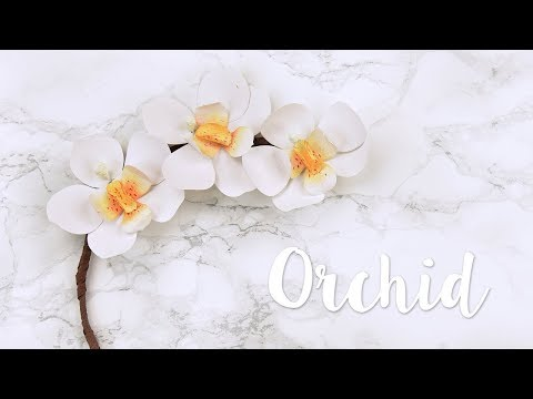 How to create your own paper Orchid! - Sizzix