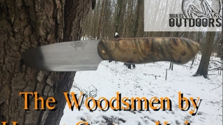The Woodsmen from hornet custom knives is a blade that has impressed me very much. the fit and finish of this blade is awesome and it functions it the woods like a dream to contact hornet custom knives click the link below  https://www.facebook.com/search/top/?q=hornet%20custom%20knivesto help support the channel shop at the mantisoutdoors amazon store www.mantisoutdoorsllc.com/shop