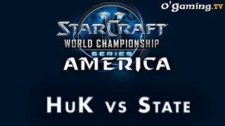WCS NA Challenger - Day 2 - 1er BO - HuK vs State