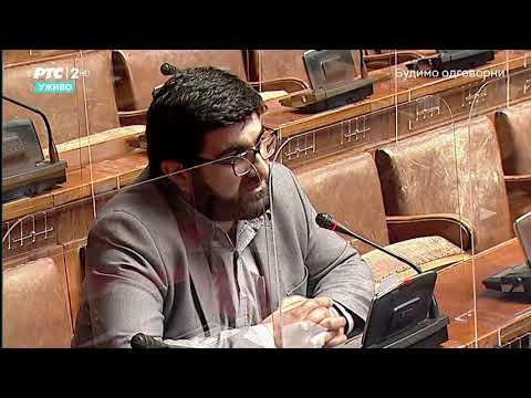 Obraćanje u Skupštini 05. 05. 2021. g. – Narodni poslanik SPP-a dr. Jahja Fehratović