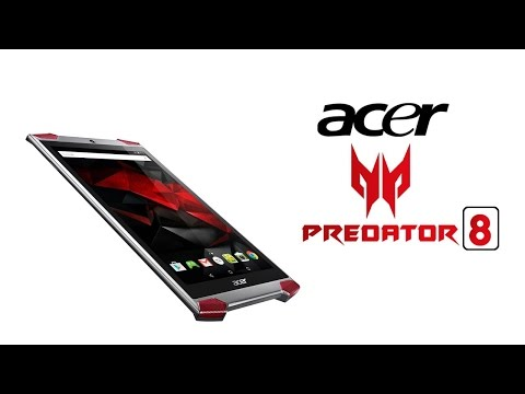 , title : 'Acer Predator 8 First Look | 2 GB RAM | 8.6mm Thickness'