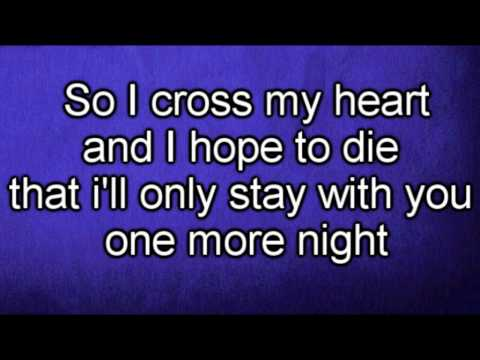 Maroon 5 – One More Night (Lyrics)