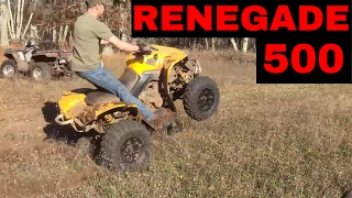 10. Can-Am Renegade 500 Wheelie Power Demonstration Video
