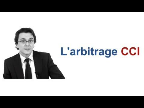 L'arbitrage CCI