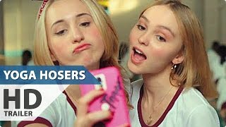 Yoga Hosers Trailer 2  Johnny Depp Horror Comedy   2016