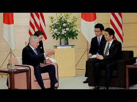 Στην Ιαπωνία ο Αμερικανός υπουργός Άμυνας