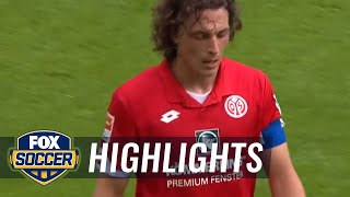 FSV Mainz 05 vs. Hertha BSC Berlin | 2015-16 Bundesliga Highlights by FOX Soccer