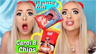 RAPPER Snacks Taste Test... r they good? by Piink Sparkles
