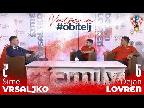 Vatrena #obitelj: Šime Vrsaljko i Dejan Lovren