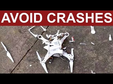 How to avoid crashes and fly aways | TOP 13 HINTS