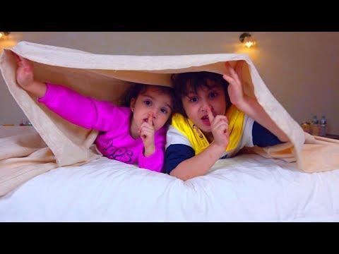 НЕЛЬЗЯ Слушать СКАЗКИ Перед СНОМ Камиль и Аминка УЗНАЛИ ВСЮ ПРАВДУ Для детей кids сhildrеn - DomaVideo.Ru