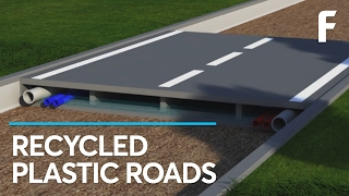 Introducing 100% Recycled, Maintenance-Free Roads