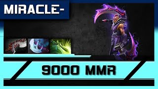 Liquid Miracle 9.4 K Anti Mage Rampage Gameplay 989 GPM and 960 XPM.