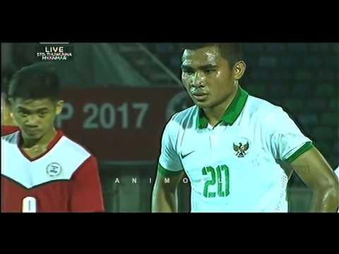 Indonesia vs Filipina 9 0 • AFF U18 7 Sept 2017 • HD Highlights