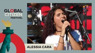 Video Alessia Cara Performs 'Scars To Your Beautiful' | Global Citizen Festival NYC 2017 MP3, 3GP, MP4, WEBM, AVI, FLV Juni 2018
